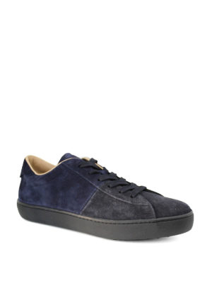 Tod'S: trainers online - Pebble detailed suede sneakers