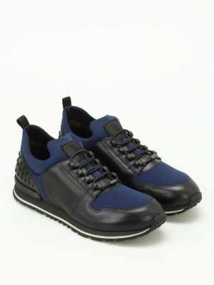 Tod'S: trainers online - Scuba and leather running sneakers