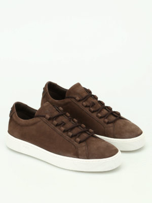 Tod'S: trainers online - Soft nubuck sneakers
