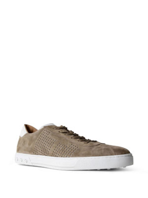 Tod'S: trainers online - Suede low top sneakers