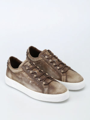 Tod'S: trainers online - Used leather sneakers