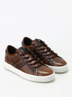 Tod'S: trainers online - Vintage leather sneakers