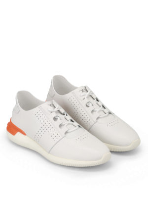 Tod'S: trainers online - White smooth leather sneakers