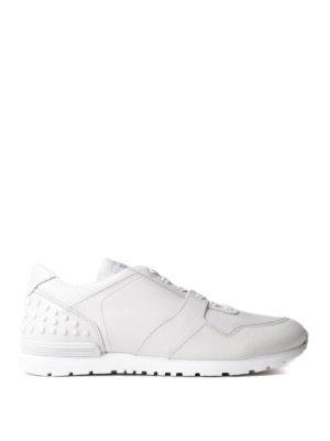 Tod'S: trainers - Pebble detailed leather sneakers