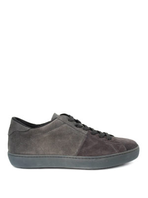 Tod'S: trainers - Pebble detailed suede sneakers