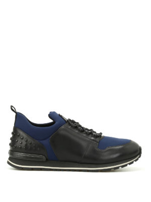 Tod'S: trainers - Scuba and leather running sneakers