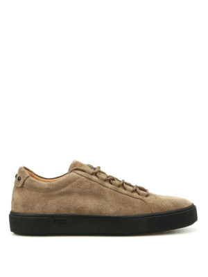 Tod'S: trainers - Soft nubuck sneakers