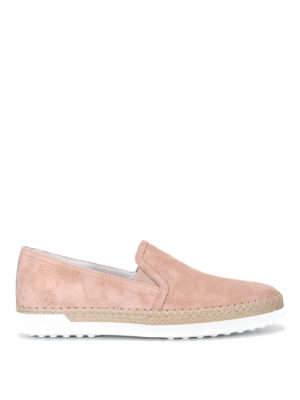 Tod'S: trainers - Suede slip-ons