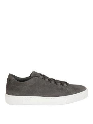 TOD'S: sneakers - Sneaker in camoscio con Gommini