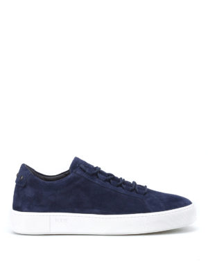 Tod'S: trainers - Suede sneakers with rubber pebbles