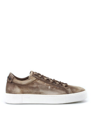 Tod'S: trainers - Used leather sneakers