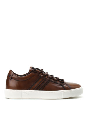 Tod'S: trainers - Vintage leather sneakers
