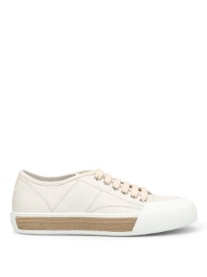 Tod'S: trainers - Woven rope detail sneakers