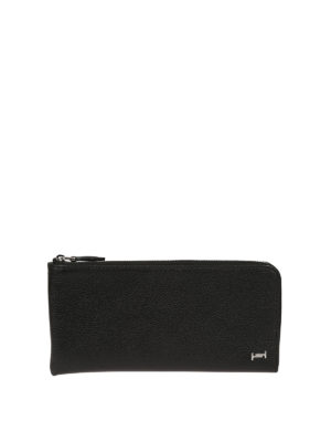 Tod'S: wallets & purses - Double T leather document holder