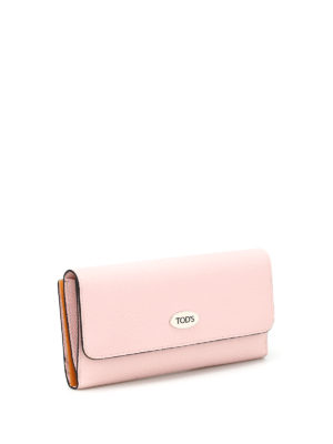 Tod'S: wallets & purses online - Multi card slot leather wallet