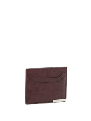 Tod'S: wallets & purses online - Textured leather card holder