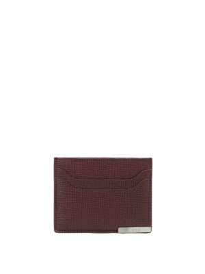 Tod'S: wallets & purses - Textured leather card holder