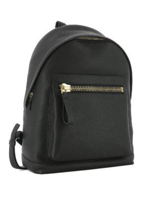 Tom Ford: backpacks online - Maxi pocket leather backpack
