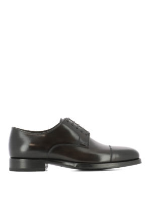 Tom Ford: classic shoes - Dark brown classic Derby shoes
