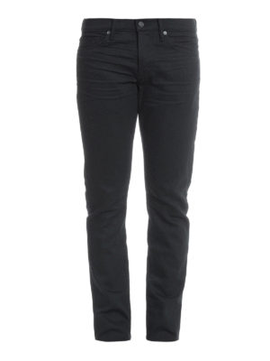 Tom Ford: straight leg jeans - Denim slim fit jeans