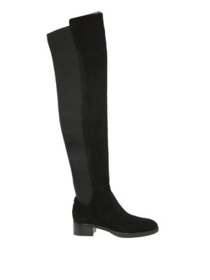 Tory Burch: boots - Caitlin stretch over-the-knee boot