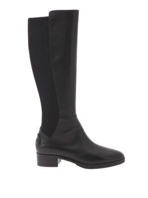 Tory Burch: boots - Neoprene and leather Caitlin boots
