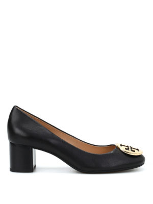 Tory Burch: court shoes - Classic smooth leather pumps