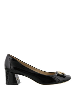 Tory Burch: court shoes - Gigi black patent leather pumps