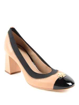 Tory Burch: court shoes online - Patent leather toe Jolie pumps