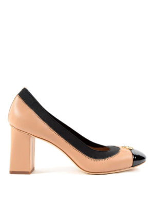 Tory Burch: court shoes - Patent leather toe Jolie pumps