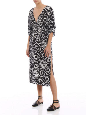 Tory Burch: cover-ups online - Pomelo Floral beach dress