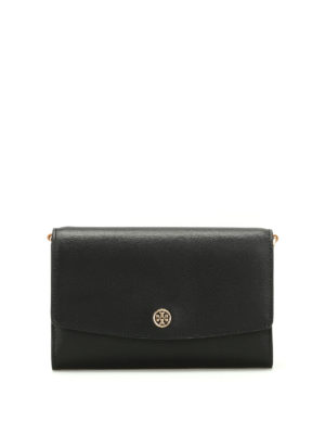 Tory Burch: cross body bags - Parker leather cross body bag