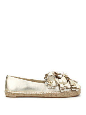 Tory Burch: espadrilles - Blossom leather espadrilles