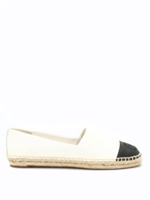 Tory Burch: espadrilles - Leather espadrilles