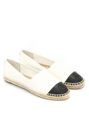 Tory Burch: espadrilles online - Leather espadrilles