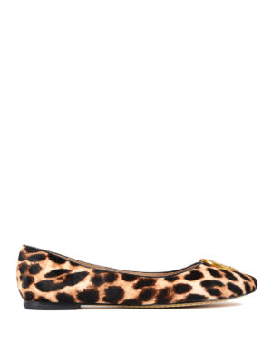 Tory Burch: flat shoes - Chelsea haircalf flats