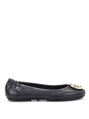 Tory Burch: flat shoes - Minnie folding flats