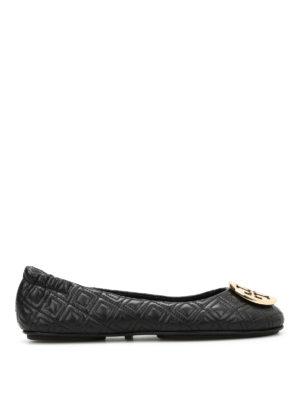 Tory Burch: flat shoes - Minnie folding flats