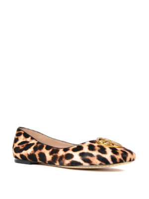 Tory Burch: flat shoes online - Chelsea haircalf flats