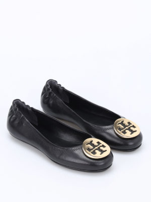 Tory Burch: flat shoes online - Minnie folding flats