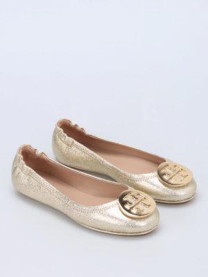Tory Burch: flat shoes online - Minnie folding flats