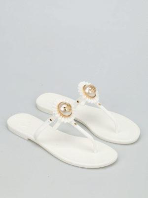 Tory Burch: flip flops online - Melody rubber flip flops
