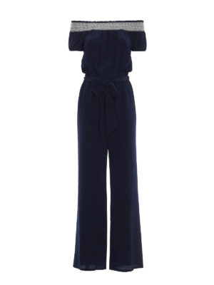 Tory Burch: jumpsuits - Misty silk jumpsuit