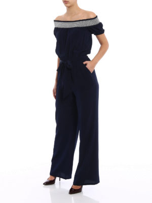 Tory Burch: jumpsuits online - Misty silk jumpsuit