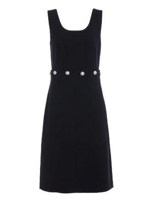 Tory Burch: knee length dresses - Fremont wool blend shift dress