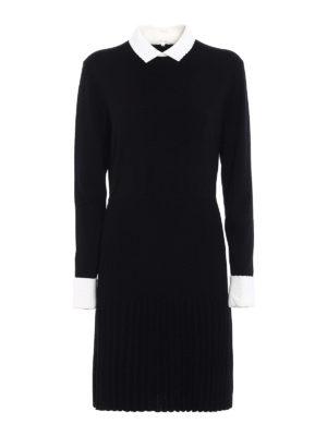 Tory Burch: knee length dresses - Sabina pleated skirt dress