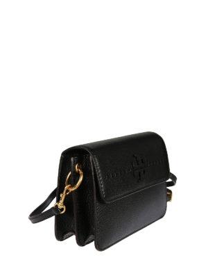 TORY BURCH: borse a tracolla online - Tracolla nera McGraw in pelle