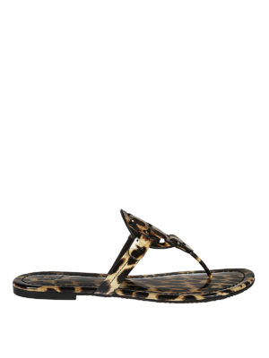 Tory Burch: sandals - Miller leather sandals