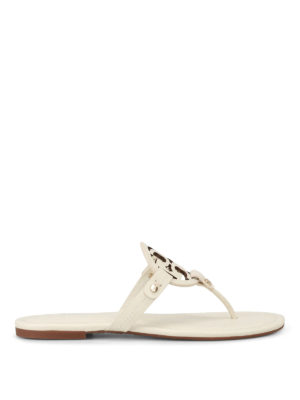 Tory Burch: sandals - Miller leather thong sandals