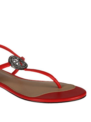 Tory Burch: sandals online - Liana leather sandals
